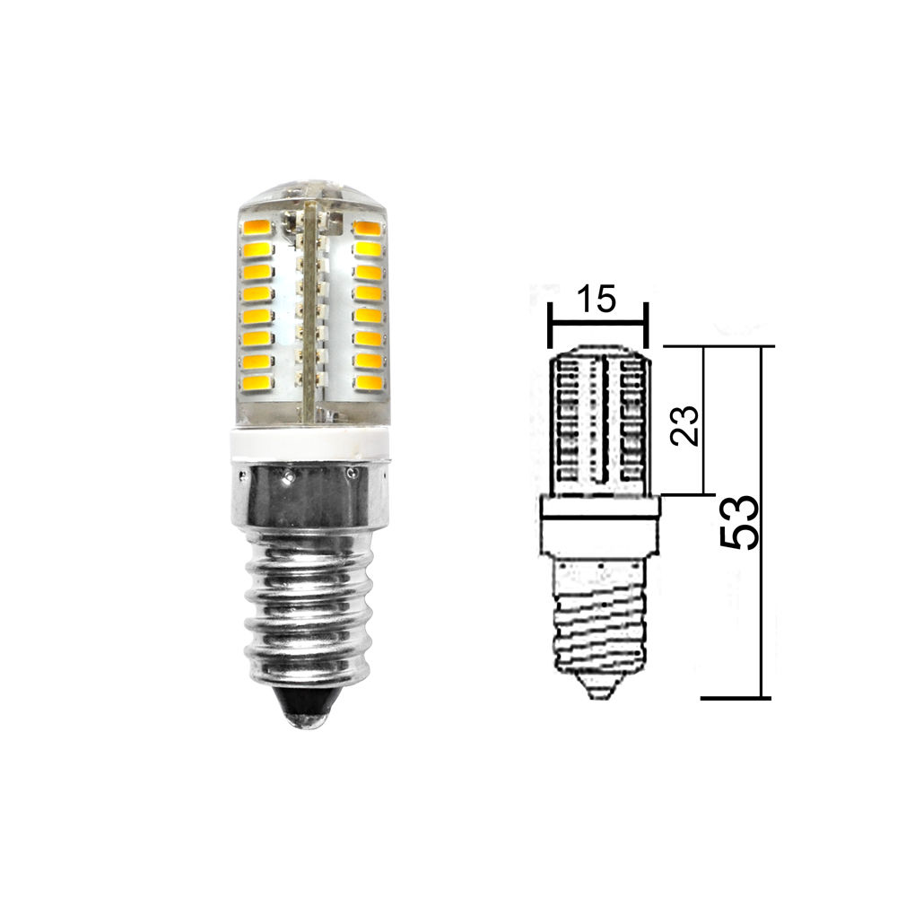 led bulb - 3w e14 led capsule bulb day white